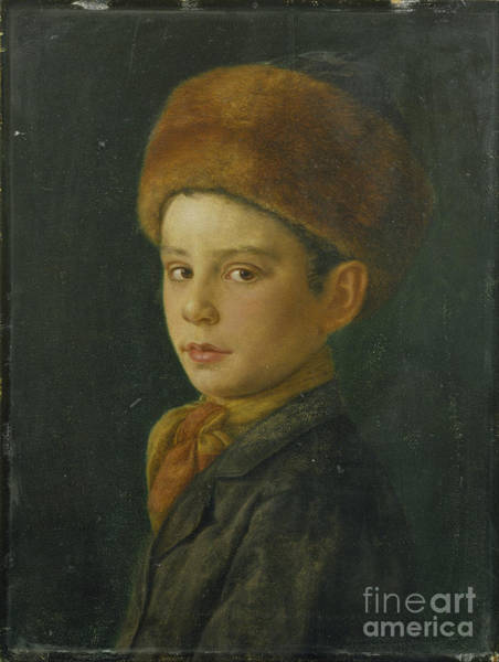 Painting - Portrait Of A Boy by Celestial Images