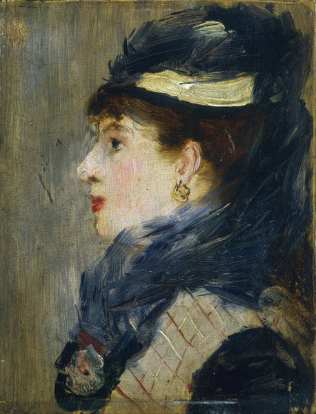 Painting - Portrait Of A Lady by Edouard Manet