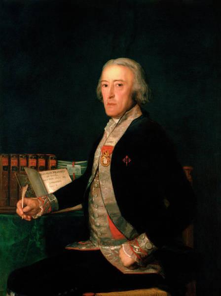 Nobility Painting - Portrait Of Felix Colon De Larriategui by Francisco Goya