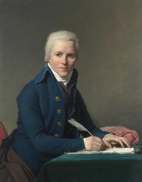 Painting - Portrait Of Jacobus Blauw by Jacques-Louis David
