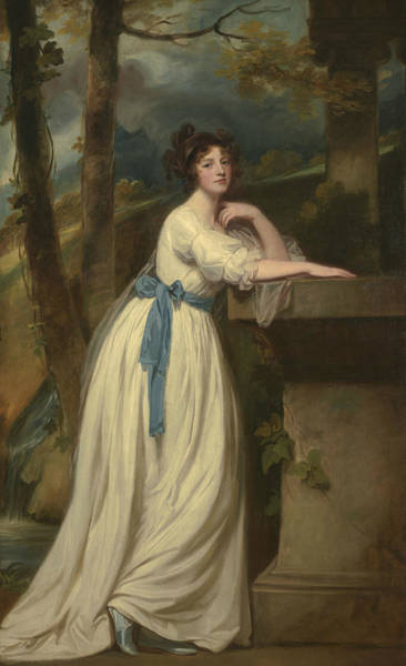 Romney Painting - Portrait Of Mrs. Andrew Reid by George Romney