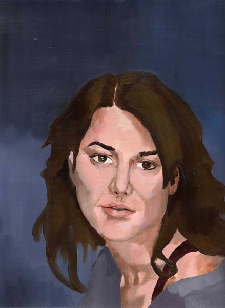 Painting - Portrait by Stephen Panoushek