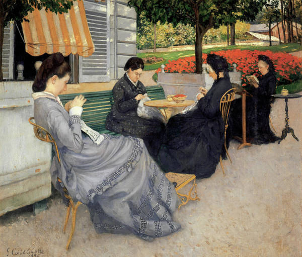 Painting - Portraits In The Countryside by Gustave Caillebotte