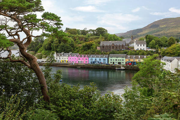 Stadt Photograph - Portree - Isle Of Skye by Joana Kruse