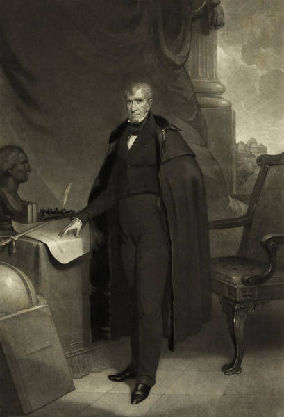 Wall Art - Photograph - President William Henry Harrison by International  Images