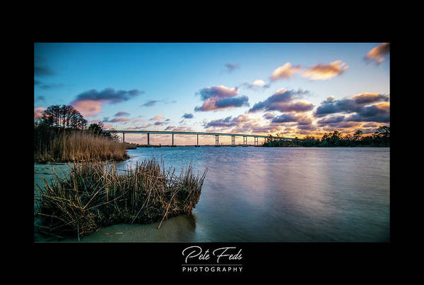 Photograph - Pungo Ferry Bridge by Pete Federico