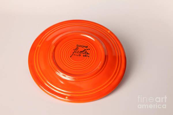 Beta Radiation Photograph - Radioactive Ceramic Plate by Ted Kinsman