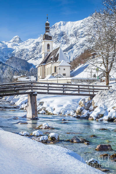 Wall Art - Photograph - Ramsau In Winter by JR Photography