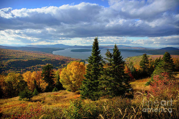 Rangeley Overlook Art Print