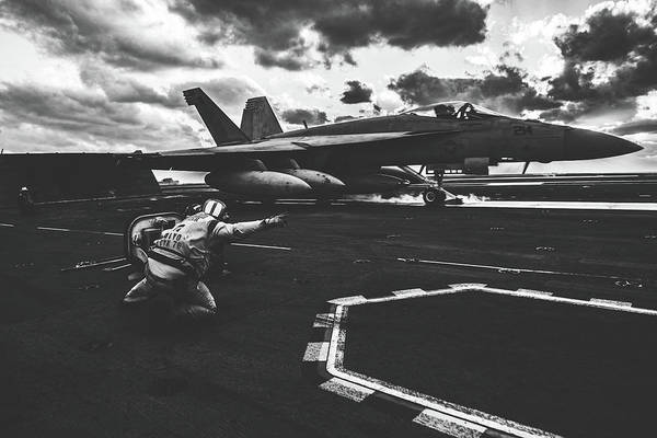 Wall Art - Photograph - Ready To Launch by U S Navy