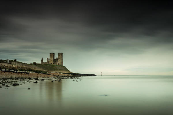 Wall Art - Photograph - Reculver Towers by Ian Hufton
