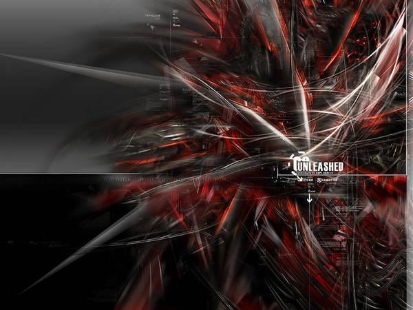 Red Digital Art - Red by Maye Loeser