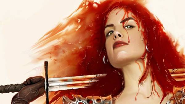 Red Digital Art - Red Sonja by Maye Loeser