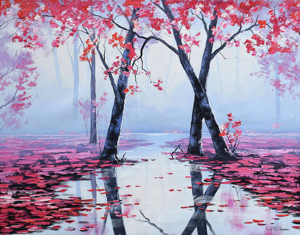 Wall Art - Painting - Reflections by Graham Gercken