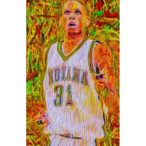 Fineart Wall Art - Photograph - Reggie Miller. Ucla. Indiana Pacers by David Haskett II