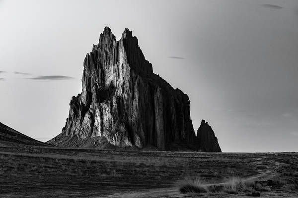 Photograph - Remote Yet Imposing by Jon Glaser