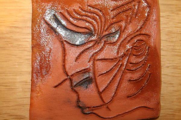 Ceramic Art - Respect - Tile by Gloria Ssali