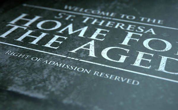 Nonprofit Digital Art - Retirement Home Signage by Allan Swart
