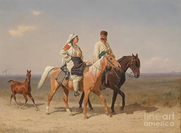 Painting - Returning Home  by Celestial Images