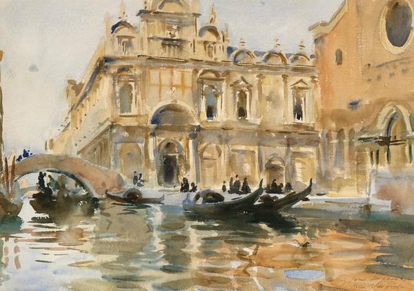 Rio Dei Mendicanti Venice Art Print