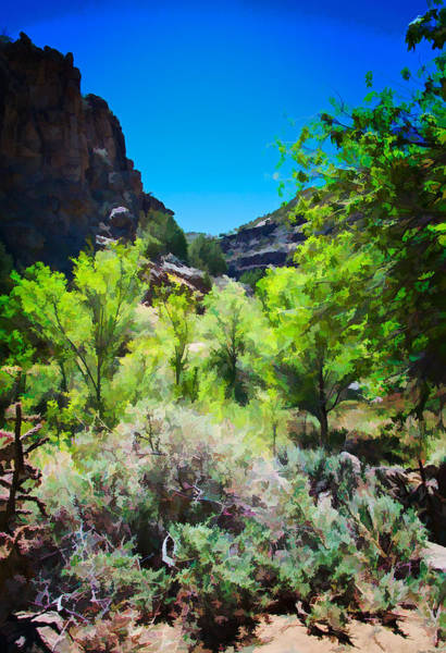Digital Art - Rio Grande Gorge  by Charles Muhle