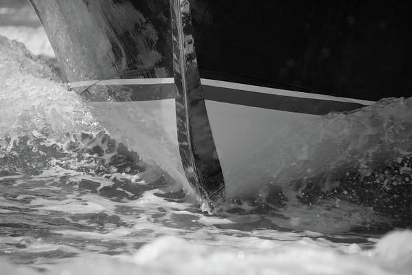 Photograph - Riva Bow Wake by Steven Lapkin
