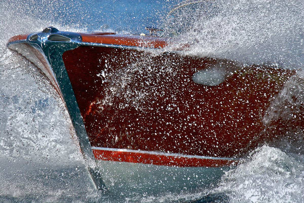 Photograph - Riva Splash by Steven Lapkin