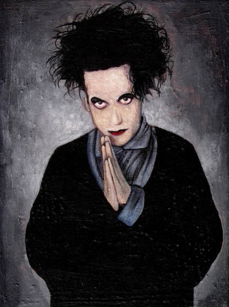 Wall Art - Painting - Robert Smith by Rouble Rust