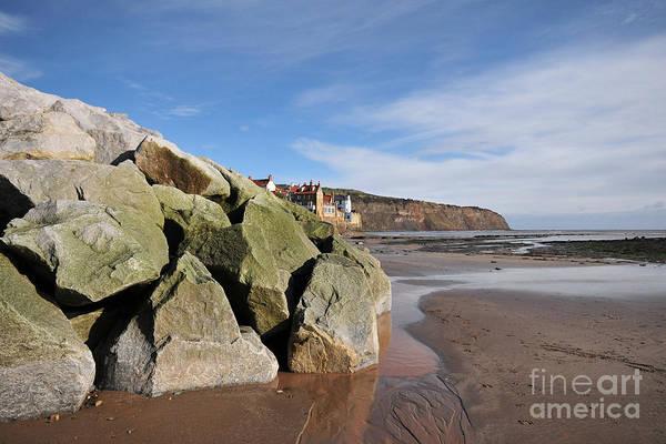 North Sea Photograph - Robin Hoods Bay by Smart Aviation