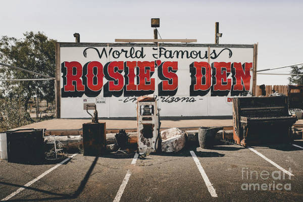 Rosies Den Cafe  Art Print