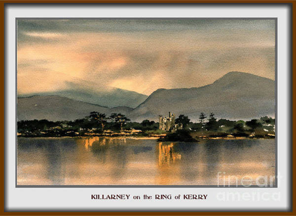 Painting - Ross Castle, Killarney by Val Byrne