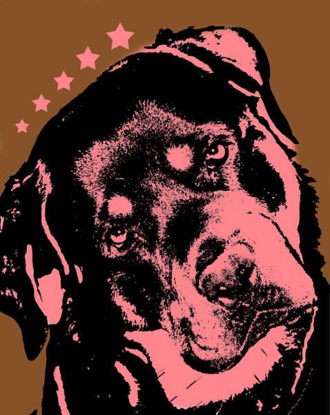 Rottweiler Painting - Rottweiler  by Dean Russo Art