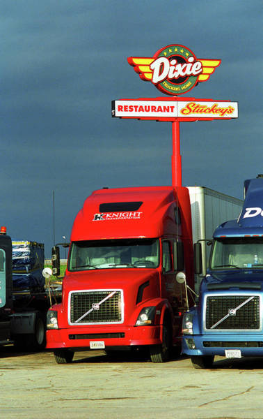 Photograph - Route 66 - Dixie Truckers Home by Frank Romeo