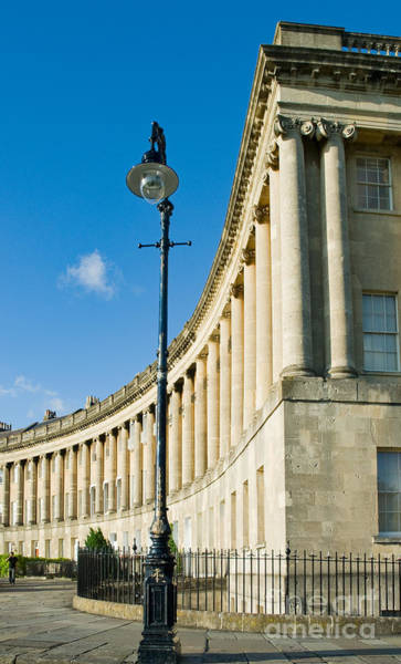 Photograph - Royal Crescent, Bath by Colin Rayner