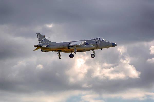 Av8 Photograph - Royal Navy Sea Harrier by Chris Smith