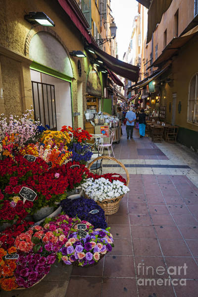Wall Art - Photograph - Rue Pairoliere In Nice by Elena Elisseeva