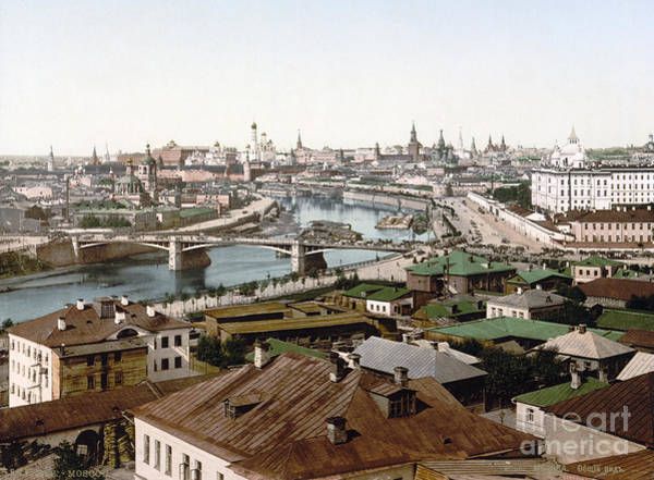 Wall Art - Painting - Russia: Moscow, C1895 by Granger
