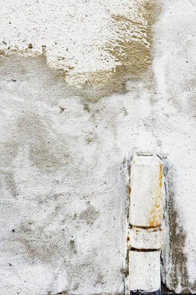 Wall Art - Photograph - Rusty Drainage Pipe by Tom Gowanlock