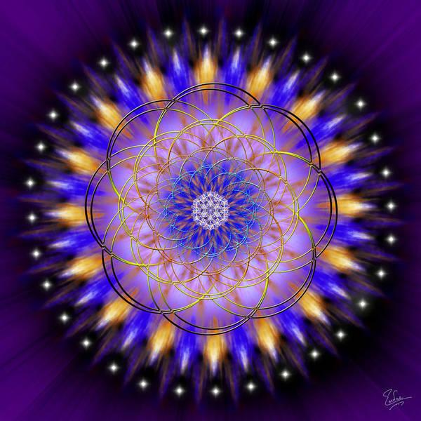 Digital Art - Sacred Geometry 453 by Endre Balogh