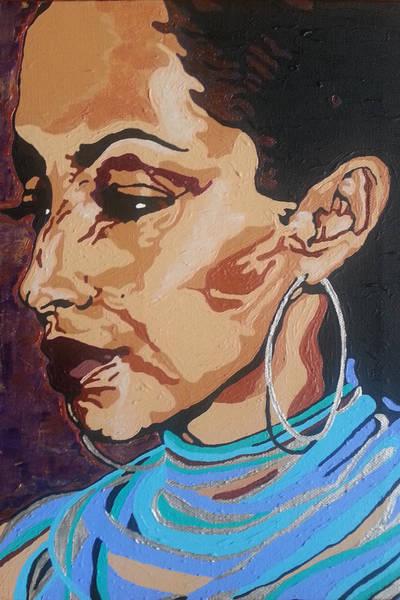 Painting - Sade Adu by Rachel Natalie Rawlins