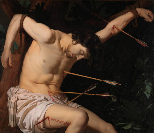 Injury Wall Art - Painting - Saint Sebastian by Gerrit van Honthorst