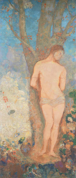 Painting - Saint Sebastian by Odilon Redon