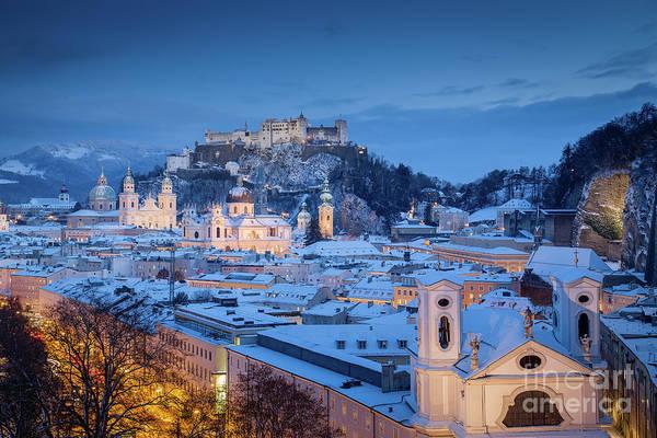 Wall Art - Photograph - Salzburg Winter Dreams by JR Photography