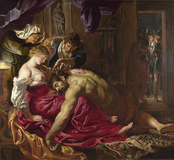 Painting - Samson And Delilah by Peter Paul Rubens