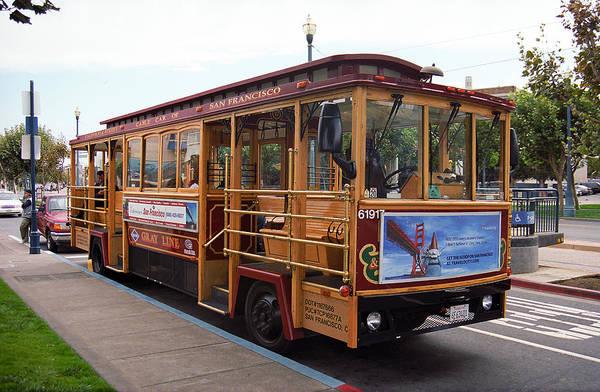 Photograph - San Francisco Cable Car by Frank Romeo