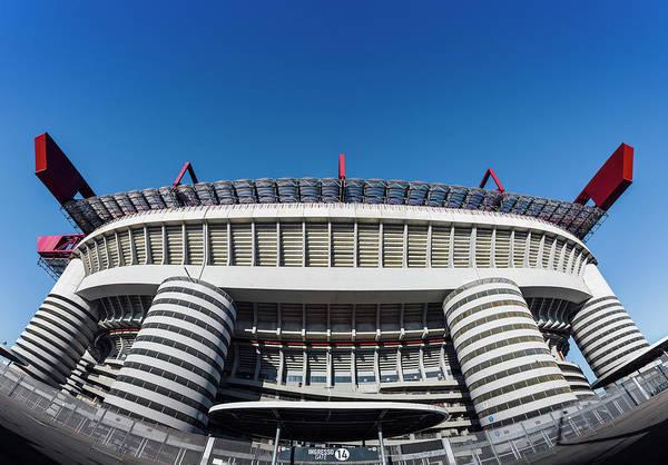 Photograph - San Siro Football Stadium - Milan, Lombardy, Italy by Alexandre Rotenberg