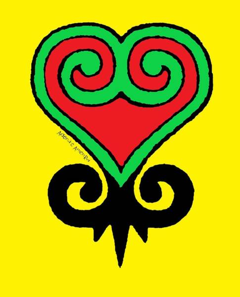 Digital Art - Sankofa Adinkra by Adenike AmenRa