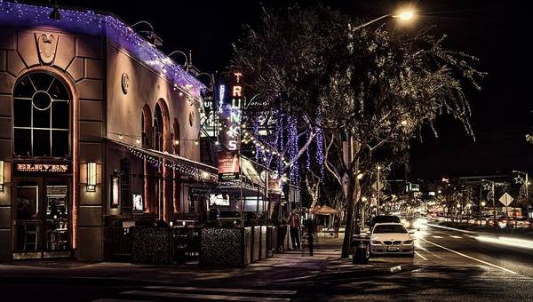 Wall Art - Photograph - Santa Monica Boulevard by Mountain Dreams