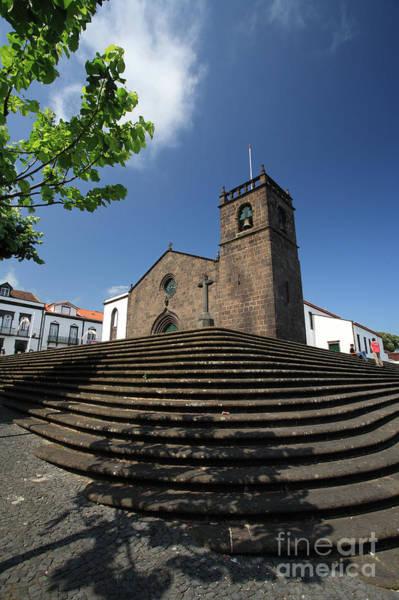 Acores Photograph - Sao Miguel Arcanjo Church by Gaspar Avila