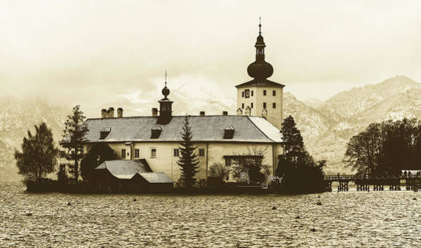 Palace Pier Wall Art - Photograph - Schloss Ort, Gmunden Austria by Pixabay